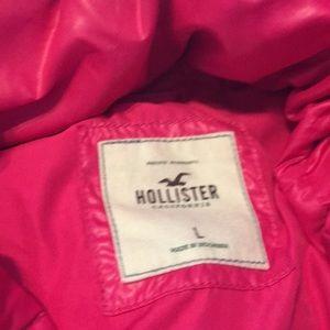 Hollister Jackets & Coats - Pink Polyester Jacket